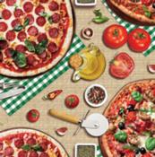 Toalha Alcoterm Pizza Napolitana  Alko 1,40x30mt 11796 02734923
