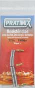 Resistência 220v 6800w Tipo Lorenzetti - Linha Duo 11847 LD0268