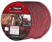 Corda Poliéster Vermelha/colorida Carretel Com 240m 08mm 10194 C1C0708