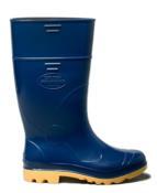 Bota Cano Longo Azul/amarelo Industrial N°38 C.a.31.224 10213 CLAAP/508