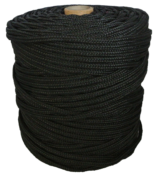 Corda Multifilamento Preta 06mm 150m 12058 06PR
