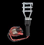 Suporte Para Lâmpada Com Garra Bateria + Cabo Paralelo.2 X0,75/5 Metros  Base Ferro 12250 423