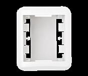Caixa De Sobrepor Para 2 Módulo 12321 50920