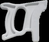 Cabo Serrote Açougueiro Nylon Branco Modelo Novo 12372