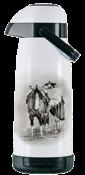 Garrafa Térmica Pump Branco Gaudéria 1,8l 10319 54735