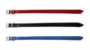 Coleira Colorida Azul/preta/vermelha 38cm N-2 12439 2