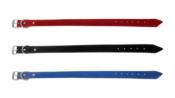 Coleira Colorida Azul/preta/vermelha 52cm N-5 12442 5
