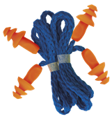 Protetor Auricular Tipo Plug Amarelo/laranja C.a.30405 10346 10098