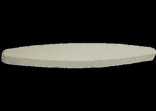 Pedra Afiar Oval Grana Fina  230mm 12579 76425