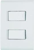 Conjunto 2 Interruptores Simples 10a/250v 10014 57170/040
