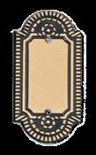 Placa Colonial Interruptor 2 Tomadas Red Matelco 1777 4021