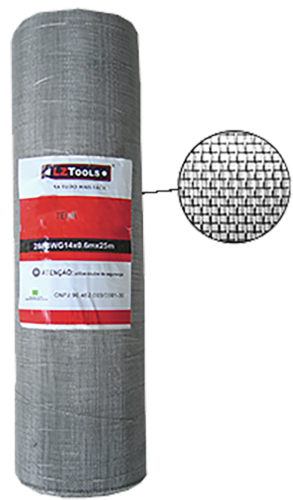 Tela Inox 304/40x0,20x1,30m Altura 10512 I-40
