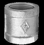 Luva Ferro Galvanizado Fêmea BsP-Z    1/2 2057 CG270c
