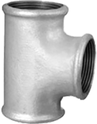 "Tee Ferro Galvanizado BsP-Z    1/2"" 2076 CG130c"