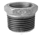 "Bucha Ferro Galvanizada Redução BsP-Z0    3/4""x1/2"" 2079 CG241f"