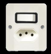 Interruptor Simples Tomada Quadrada 10a 2179 34106