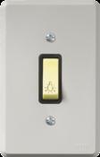 Pulsador Lâmpada Gravada 1t Com Placa 2208 11105