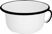 Urinol Esmaltado Branco 22cm 2419 42.003