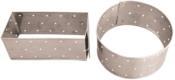 Forma Inox Queijo Retangular 22x09x10cm 2432 1-90
