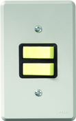 Interruptor Embutir Hotel 2 Teclas 2482 12120