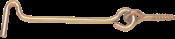 Aldrava Latonada Com Pitão 3,3x80mm 19x80 2528 1006198B