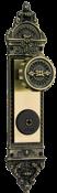 Fechadura Externa Colonial Bola Fixa Ch/quadr 2538 2BO-1500-06/FX