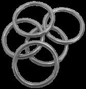 Argola Ferro Zincada 57x 6,0mm 2898 1630