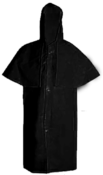 Capa Chuva Preta Manga Morcego Forrada gg 3129 306/GG