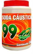 Soda Cáustica Escamas 99 Pote 1kg 3311 44