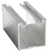 Trilho Alumínio Pantográfico Côncavo 35x35mm 3432 TP10.6000/10