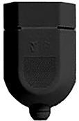 Plugue Fêmea C/proteção Preto 2p 10a 3490 1083-2