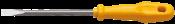 Chave Fenda Cabo Amarelo 8  1/4x 5 3549 41500/031