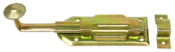 Fecho Porta Com Mola Bicromatizado 15cm 3794 30815/15CM