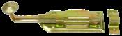 Fecho Porta Com Mola Bicromatizado 30cm 3796 30830/30CM