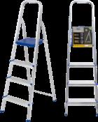 Escada Abrir Alumínio 4 Degraus Alt.1.230 4305 960520