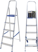 Escada Abrir Alumínio 5 Degraus Alt.1.410 4306 960522