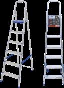 Escada Abrir Alumínio 6 Degraus Alt.1.590 4307 1048