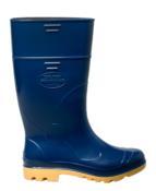 Bota Cano Longo Azul/amarelo Industrial N°40 C.a.31.224 4353 CLAAP 508