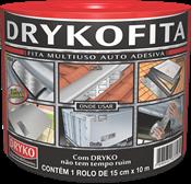 Fita Asfáltica Com Alumínio 15cmx10m 4701 FITA15CX