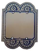 Placa Colonial Plástica Cega Matelco 4x4 4726 4010