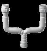 Tubo Extensivo Duplo Universal Branco 4767 030205 425