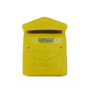 Caixa Correspondência Plástica Amarela 4841 0027