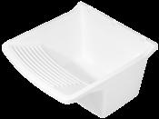 Tanque Plástico Branco 47x48 X35 20lts 4890 2612