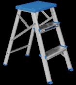 Escada Banqueta Alumínio 3 Degraus 10762 968631 3D