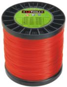 Linha Nylon Quadrada +/- 250m Vermelho 2,6mm/2kg 5459 MUD260V1A79