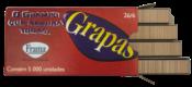 Grampo Grampeador Manual Frama Caixa Com 5000 5487 26/6