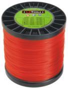 Linha Nylon Redonda +/- 380m Vermelho 2,4mm/2kg 5568 2,40MM/2KG