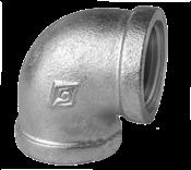 """Joelho Ferro Galvanizado 90° BsP-Z4    2"""" 5720 CG90h"""