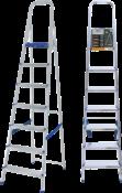 Escada Abrir Alumínio 7 Degraus Altura 1.760 6148 960525