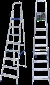 Escada Abrir Alumínio 8 Degraus Altura 1.940 6177 960526